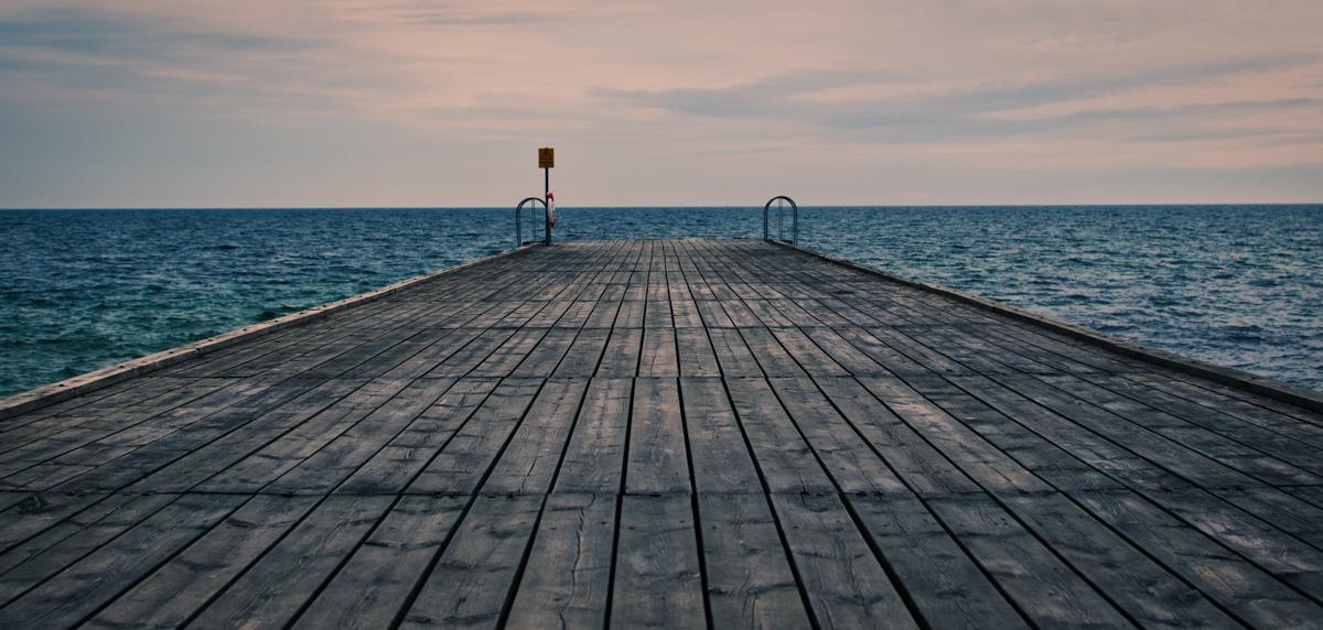 Bridge by the Baltic Sea